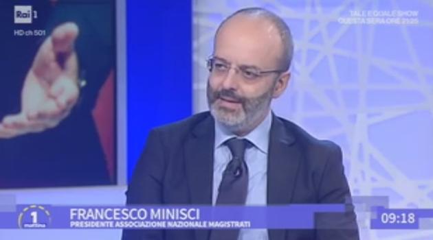 Prescrizione, Francesco Minisci a UnoMatttina