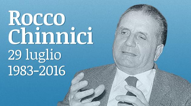 L'ANM ricorda Rocco Chinnici