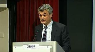 Maurizio Carbone, segretario generale ANM, introduce la III sessione