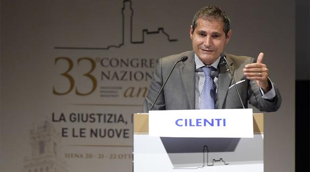 Intervento di Edoardo Cilenti, Segretario generale dell'ANM