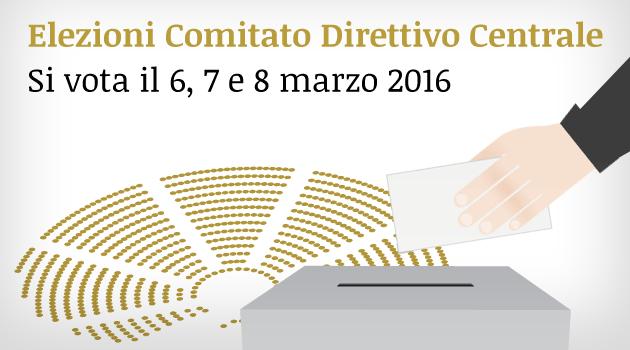 Elezioni Comitato Direttivo Centrale