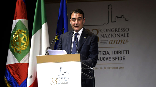 Intervento di Eugenio Albamonte, presidente dell'ANM