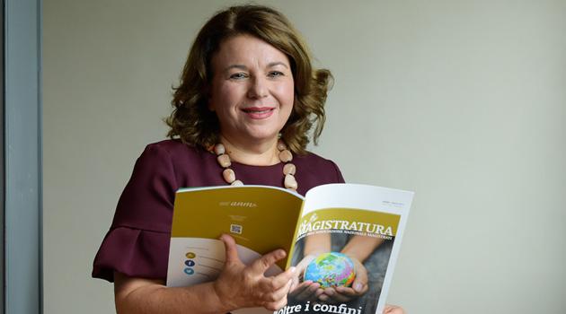 """Rossana Giannaccari presenta il restyling della rivista """"La Magistratura"""""""