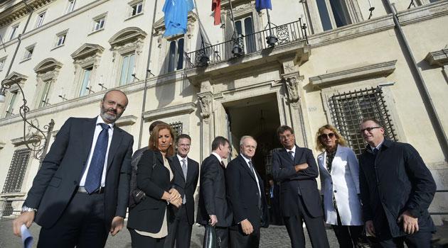 La Giunta dell'ANM incontra a Palazzo Chigi il presidente Renzi e il ministro Orlando
