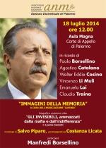 Commemorazione Borsellino, iniziativa ANM Palermo -