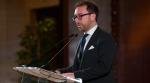 L'intervento del ministro della Giustizia Alfonso Bonafede -