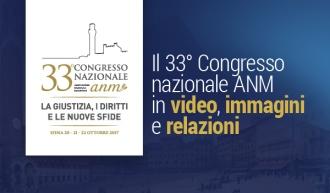 33° Congresso nazionale ANM