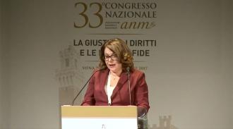 """Intervento di Rossana Giannaccari, Componente GEC dell'ANM, Direttrice della rivista """"La Magistratura"""""""