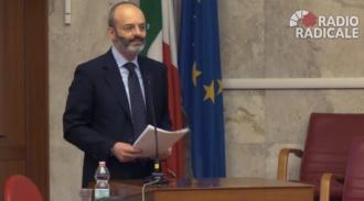 """Intervento di Francesco Minisci al dibattito """"Il metodo Falcone. Dalle prime indagini bancarie alle attuali investigazioni economico - finanziarie"""""""