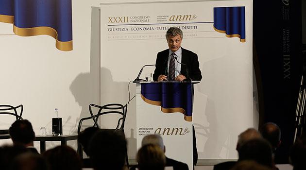 Intervento di Maurizio Carbone, segretario generale dell'ANM