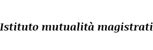 Istituto mutualità magistrati -