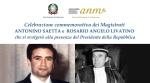 Caltanissetta, cerimonia in ricordo dei giudici Saetta e Livatino -
