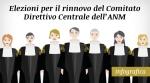 Elezioni per il rinnovo del Comitato Direttivo Centrale dell'ANM -
