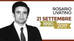 L'ANM ricorda il giudice Rosario Livatino -