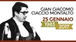 L'ANM ricorda Gian Giacomo Ciaccio Montalto -