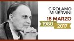 L'ANM ricorda Girolamo Minervini -