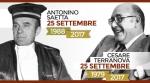L'Associazione Nazionale Magistrati ricorda i giudici Antonino Saetta e Cesare Terranova  -