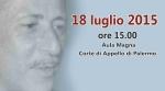Nel ricordo di Paolo Borsellino - L'intervento del Presidente dell'ANM di Palermo Matteo Frasca -