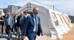 Bari, l'Anm si riunisce nelle tende del Palagiustizia: