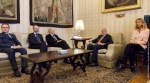 La Giunta dell'ANM incontra il presidente del Senato Pietro Grasso -
