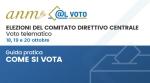 Guida al voto per le Elezioni telematiche del Comitato Direttivo Centrale dell'ANM -