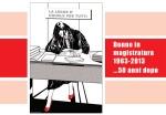 Donne in magistratura - 50 anni dopo -