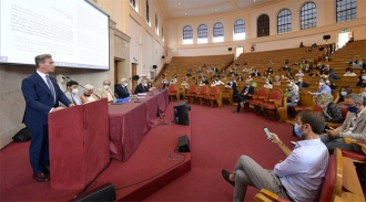 Assemblea ANM, l'intervento del presidente Luca Poniz